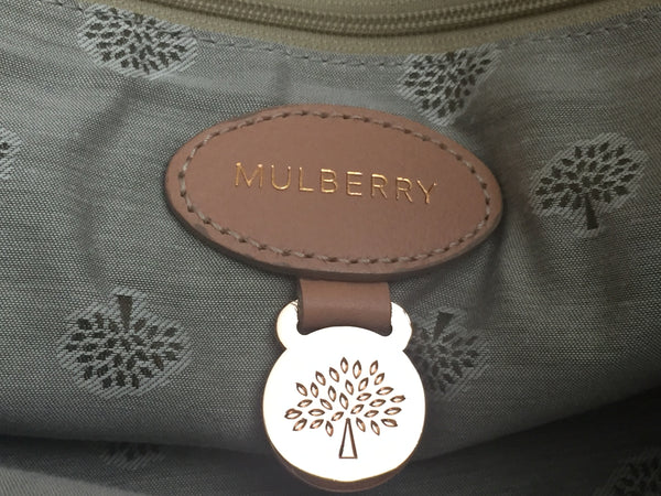 Mulberry Regular Alexa in Plaster Pink Soft Buffalo Leather with Rose Gold Hardware