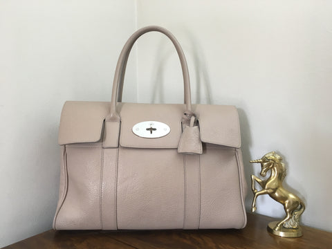f107bfa77cd81 ... france mulberry bayswater in putty pebbled leather with silver hardware  1d62f a4476 ...