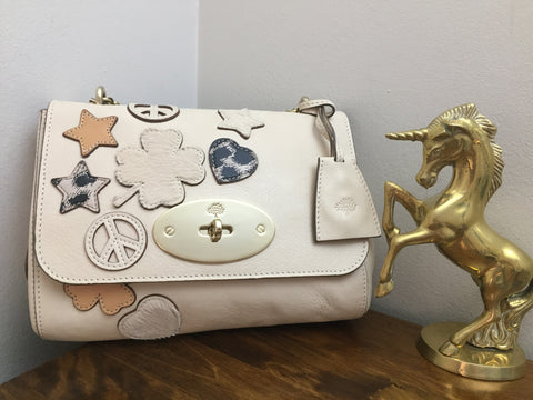 Sold Out Mulberry Patchwork Lily in Marshmallow White Soft Matte Leather ecf0a88ce2f3d