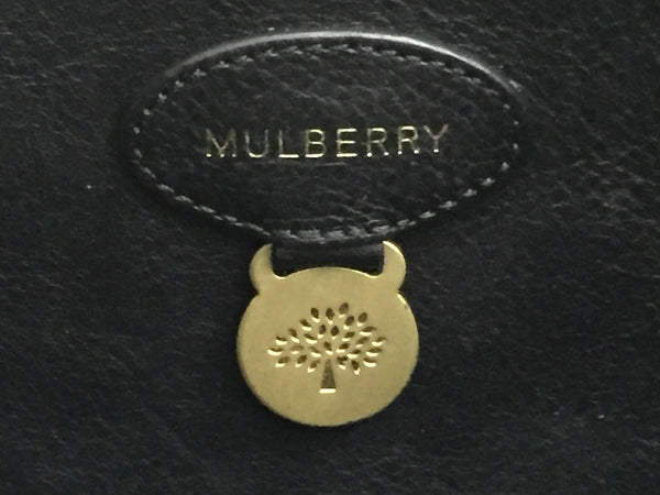 Mulberry Black Bayswater Tote