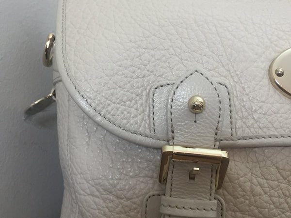 Mulberry Trout Satchel in Pear Sorbet Soft Large Grain Leather