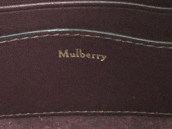 Mulberry Black Micro Zipped Bayswater - New - RRP £750