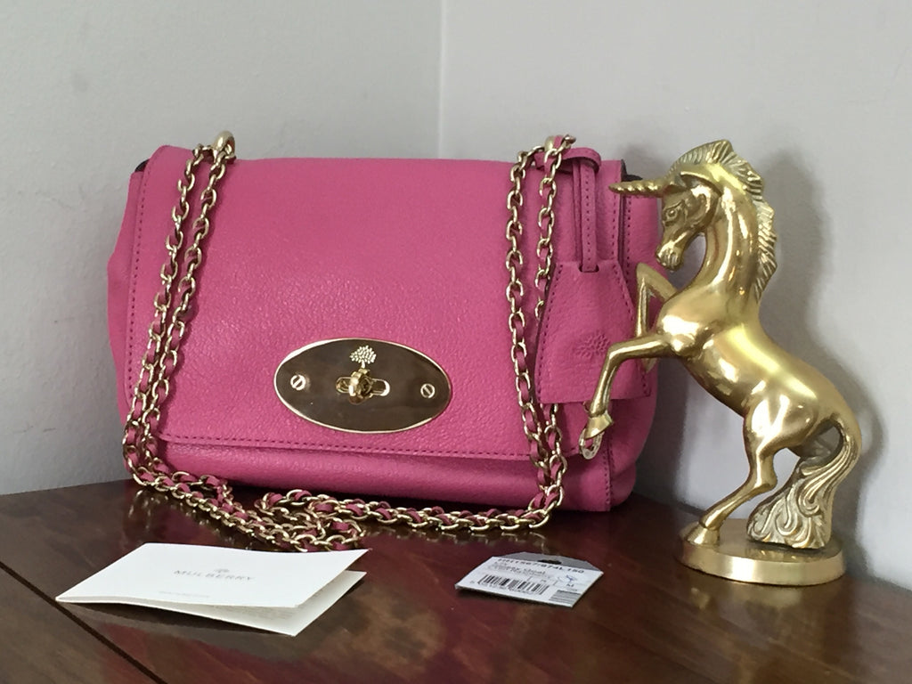 70c83d3f9a Mulberry Regular Lily in Raspberry Glossy Goat Leather – Unicorn ...