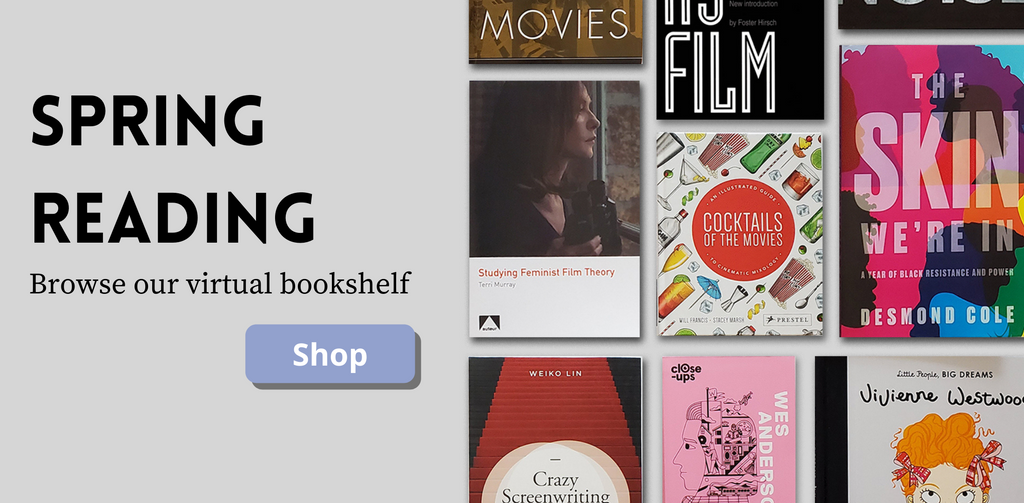 Spring Reading - Browse our virtual bookshelf with a collection of books and learn about film industry, production and history as well as fun pop culture books