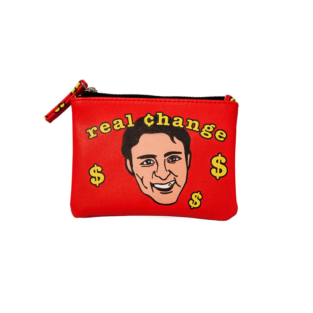 Real Change Coin Purse