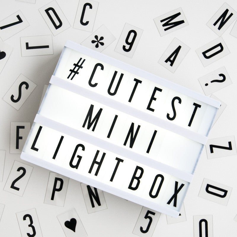 The Mini Cinema Lightbox