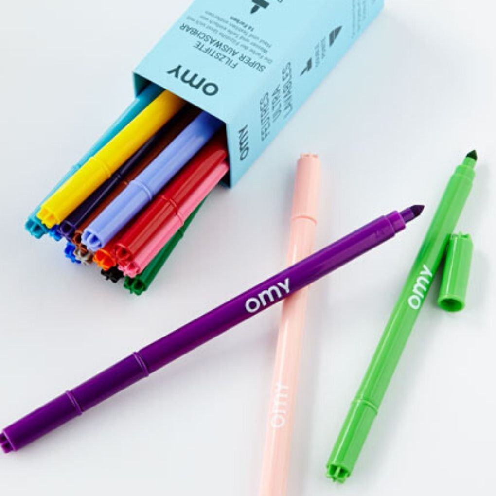 OMY 16 Ultra Washable Markers