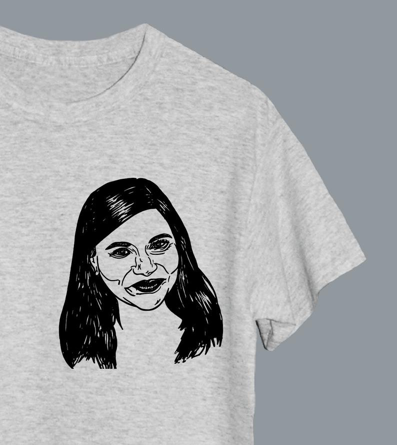 Mindy Illustrated T-Shirt