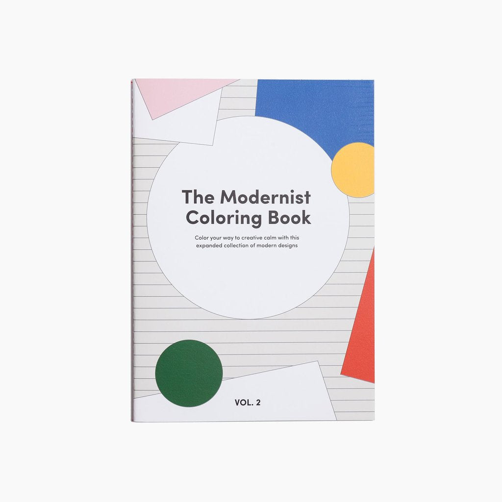 POKETO Modernist Colouring Book