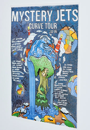 CURVE UK TOUR Ltd. edition lithograph (signed)