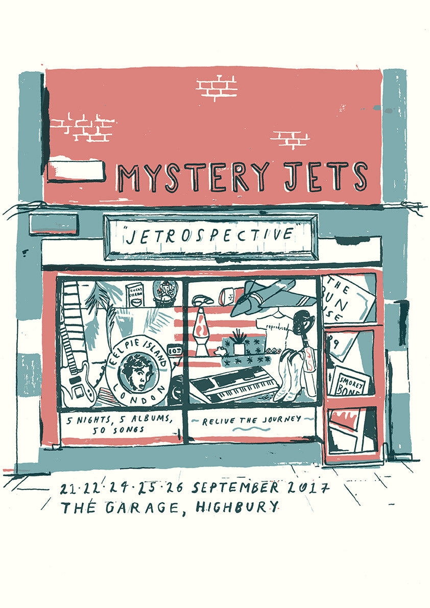JETROSPECTIVE Ltd. edition screenprint