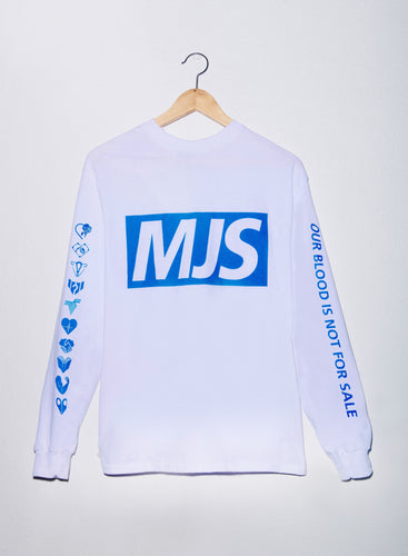 MJS X NHS long sleeve tee