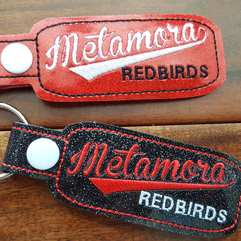 Metamora Redbirds Key Fob