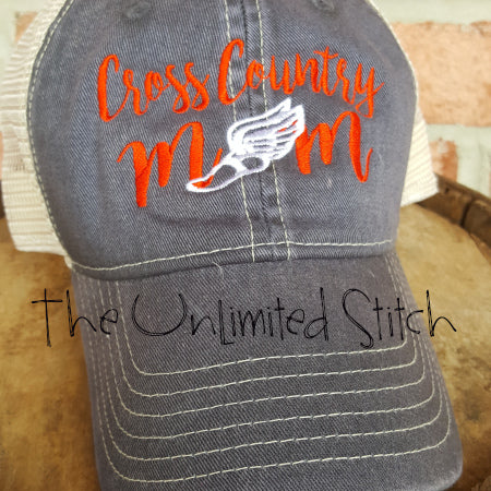 Cross Country MOM Trucker Hat