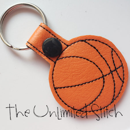 Basketball Key Fob
