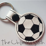 Soccer Ball Key Fob