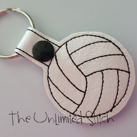 Volleyball Key Fob