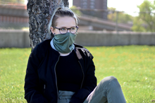 Double Take - Sustainable Women's Reversible All-Weather Face Covering
