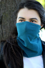 Dry Ice - Sustainable Women's Cold Weather Fleece Face Shield