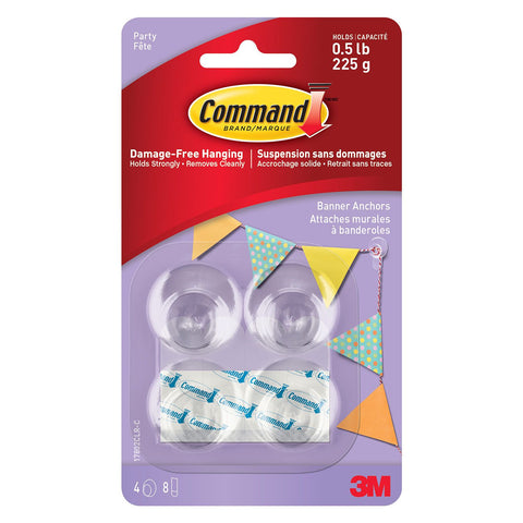 Command™ Party Banner Anchors