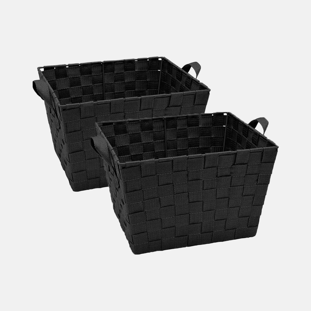 Small Woven Storage Bin Set of 2  sc 1 st  Dormify & Small Woven Storage Bin Set of 2 u2013 Dormify