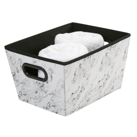 Marble Medium Grommet Storage Bin