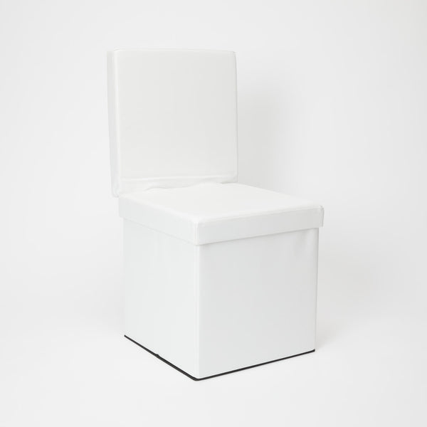 Collapsible Storage Ottoman Chair by Dormify