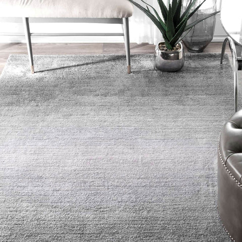 Grey Ombre Area Rug