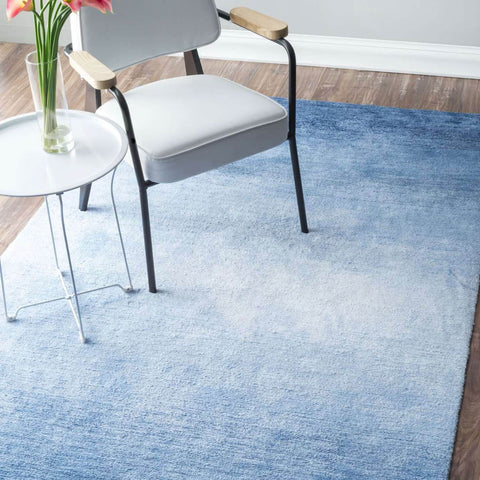 Blue Ombre Area Rug