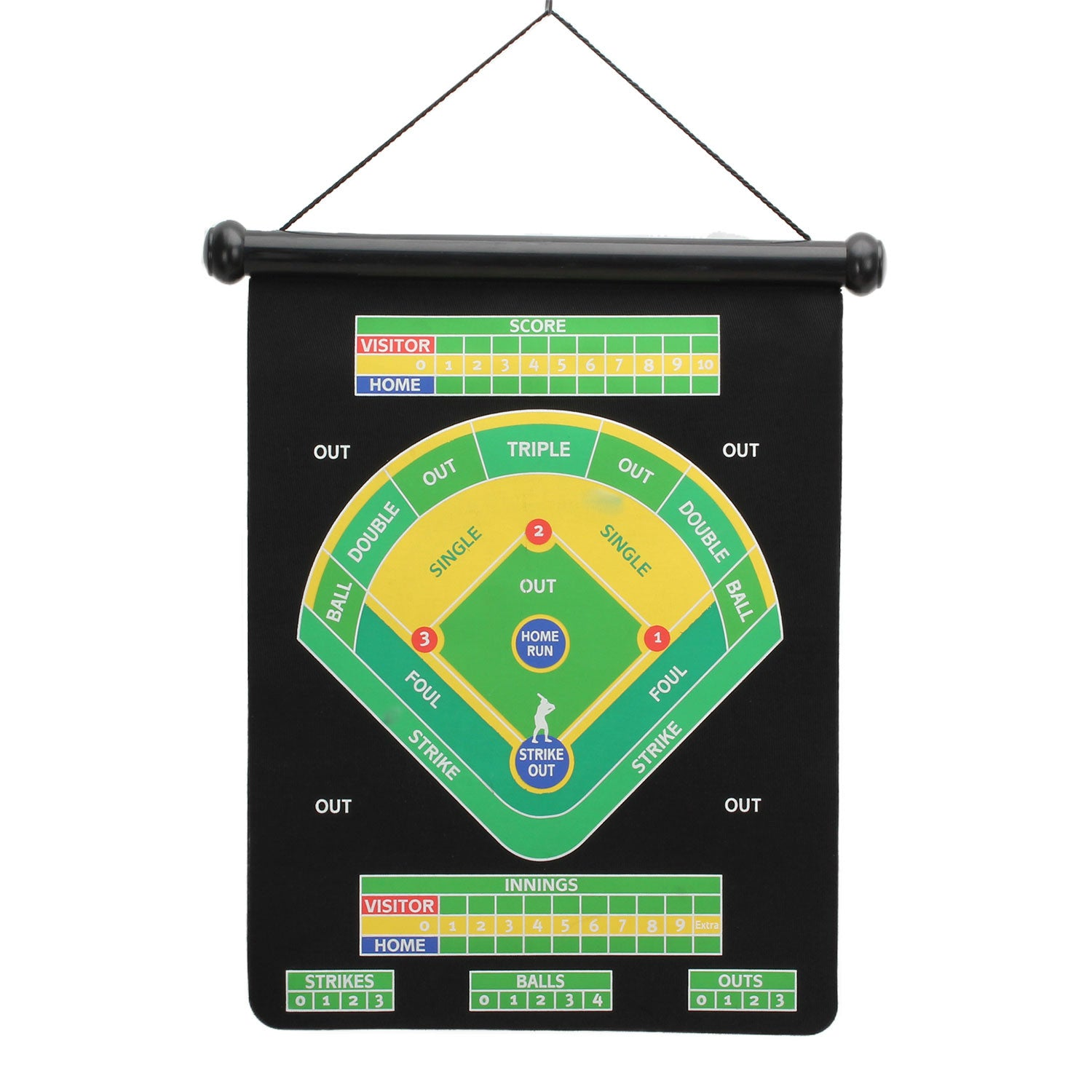 Baseball Magnetic Dart Board