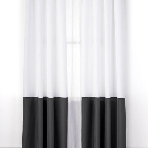 Color Block Single Curtain