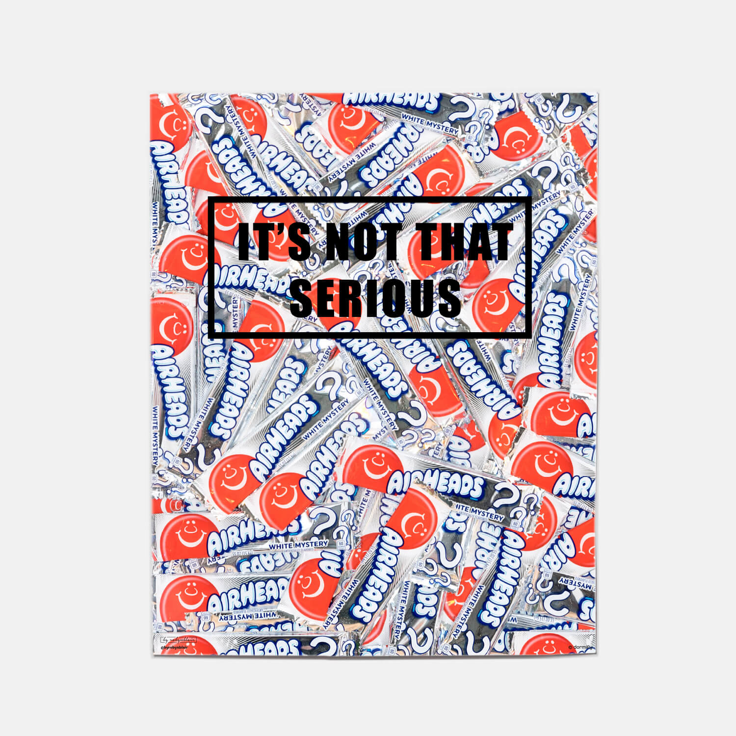not that serious print by by robynblair - 16x20 | wall