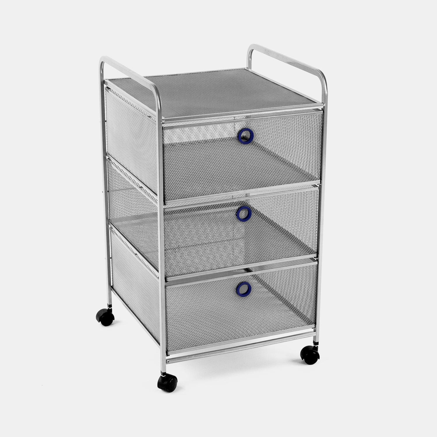 Digit 3 Drawer Cart - Navy