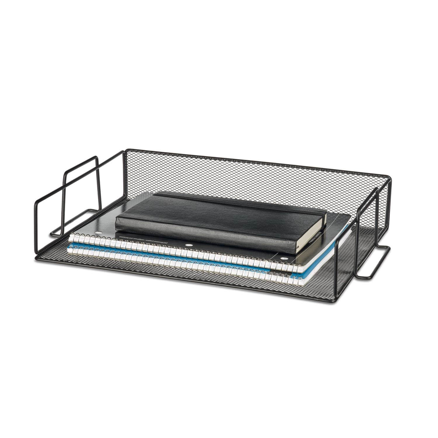 Mesh Stackable Letter Tray - Black