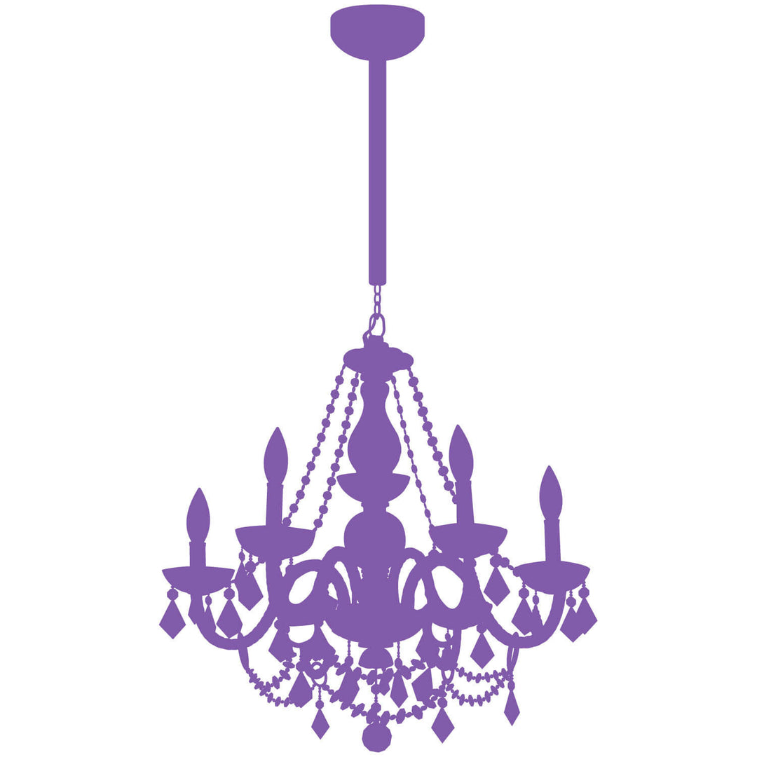 Chain chandelier decal dormify 1 aloadofball Images
