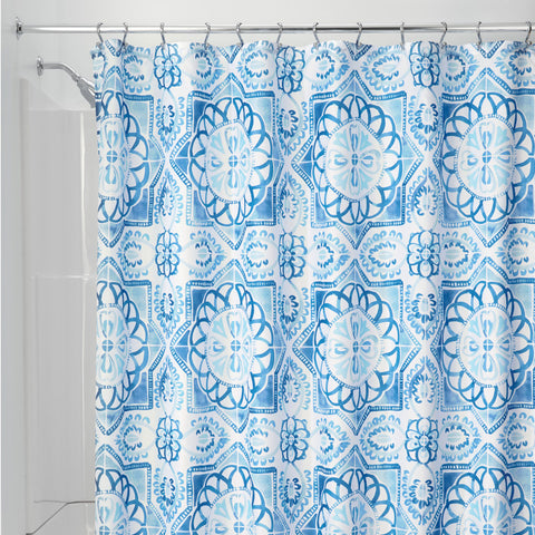 Spanish Tile Shower Curtain