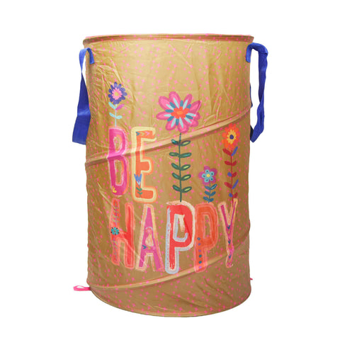 Be Happy Laundry Hamper