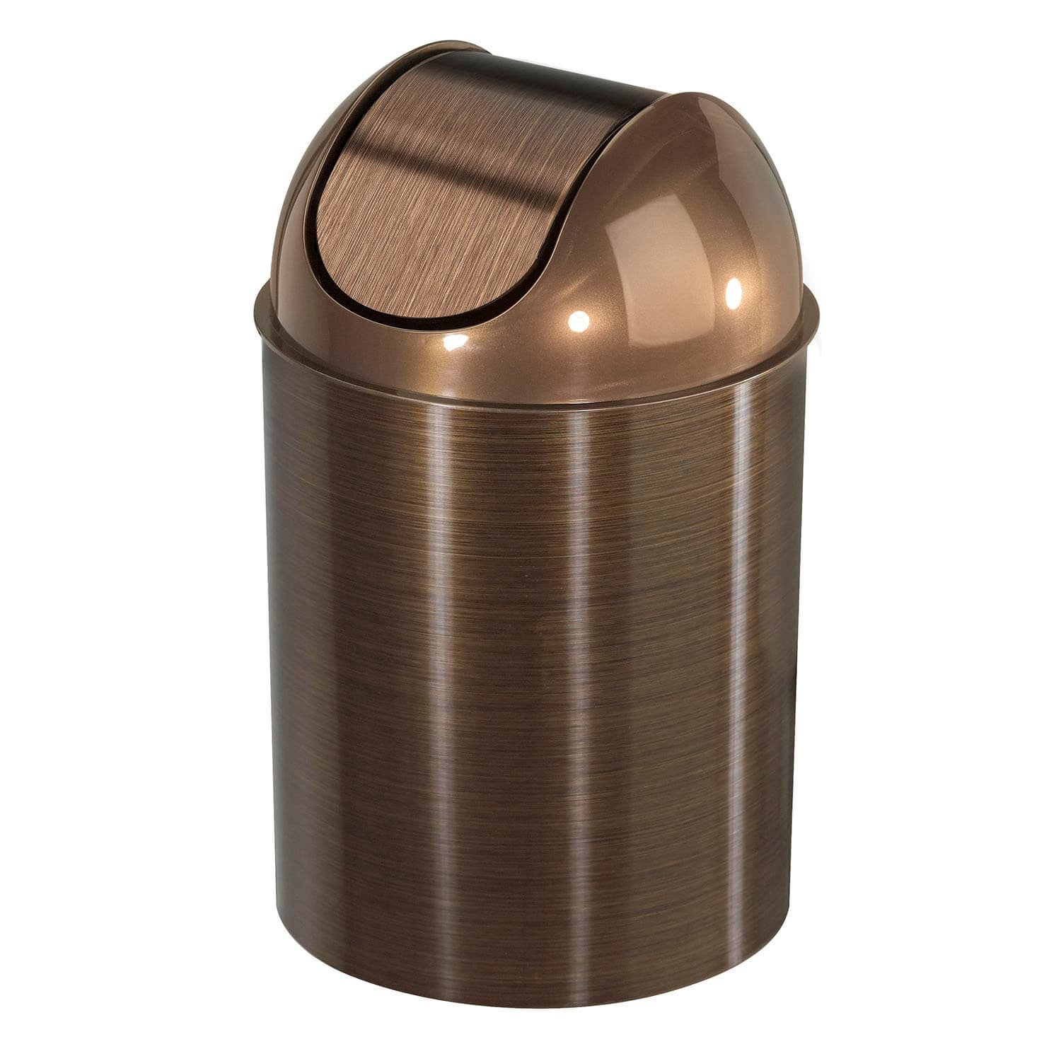 Mezzo Trash Can - Nickel