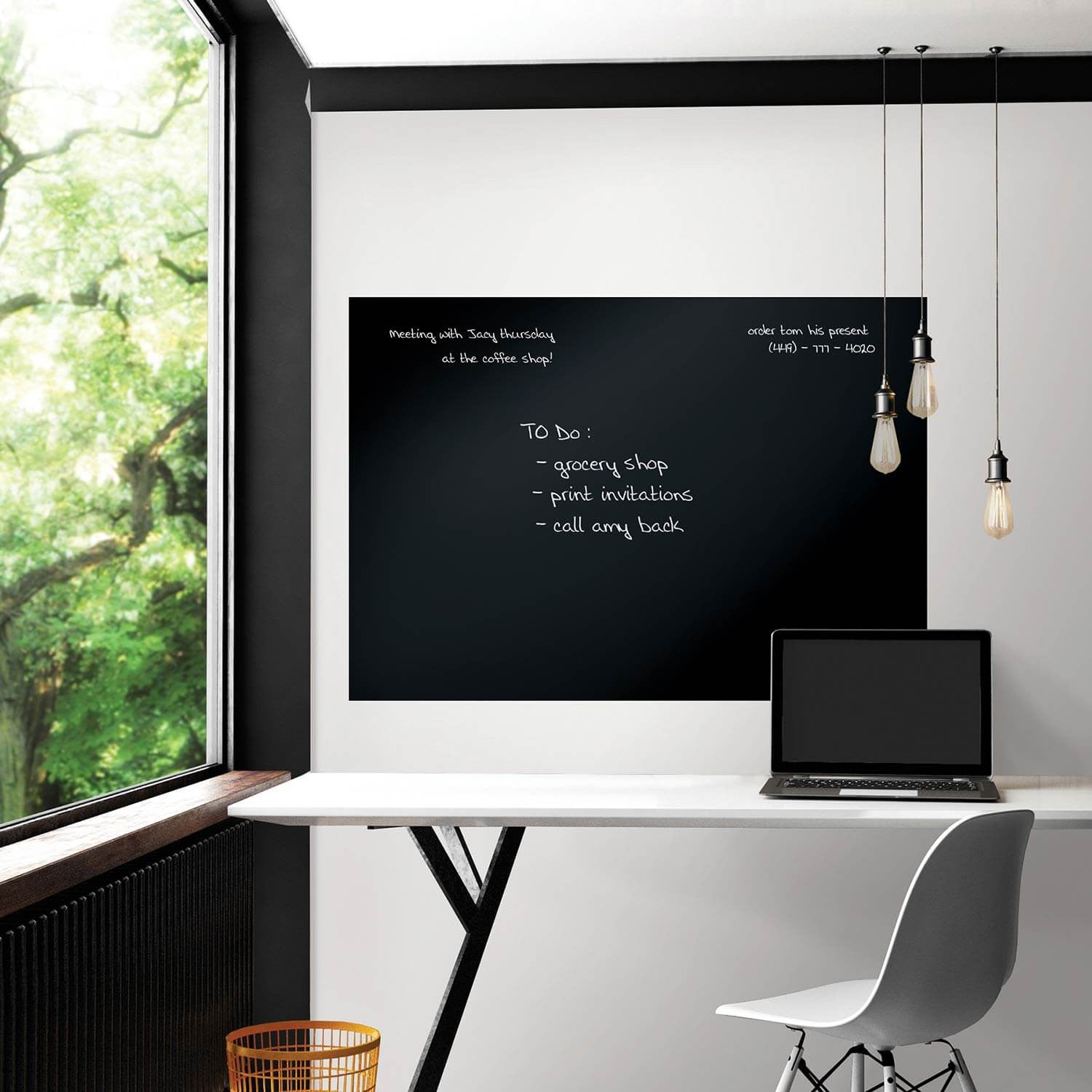 Black Giant Chalkboard Decal