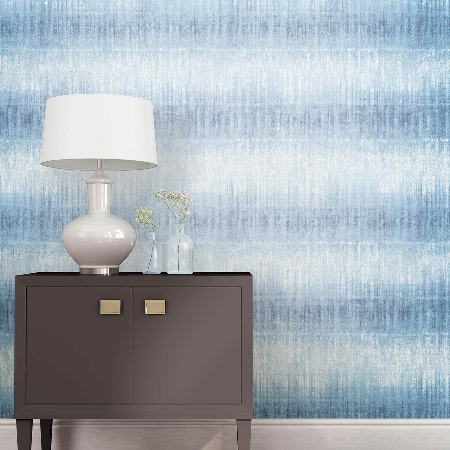 Peel and Stick Temporary Wall Paper - Tie Dye Stripe