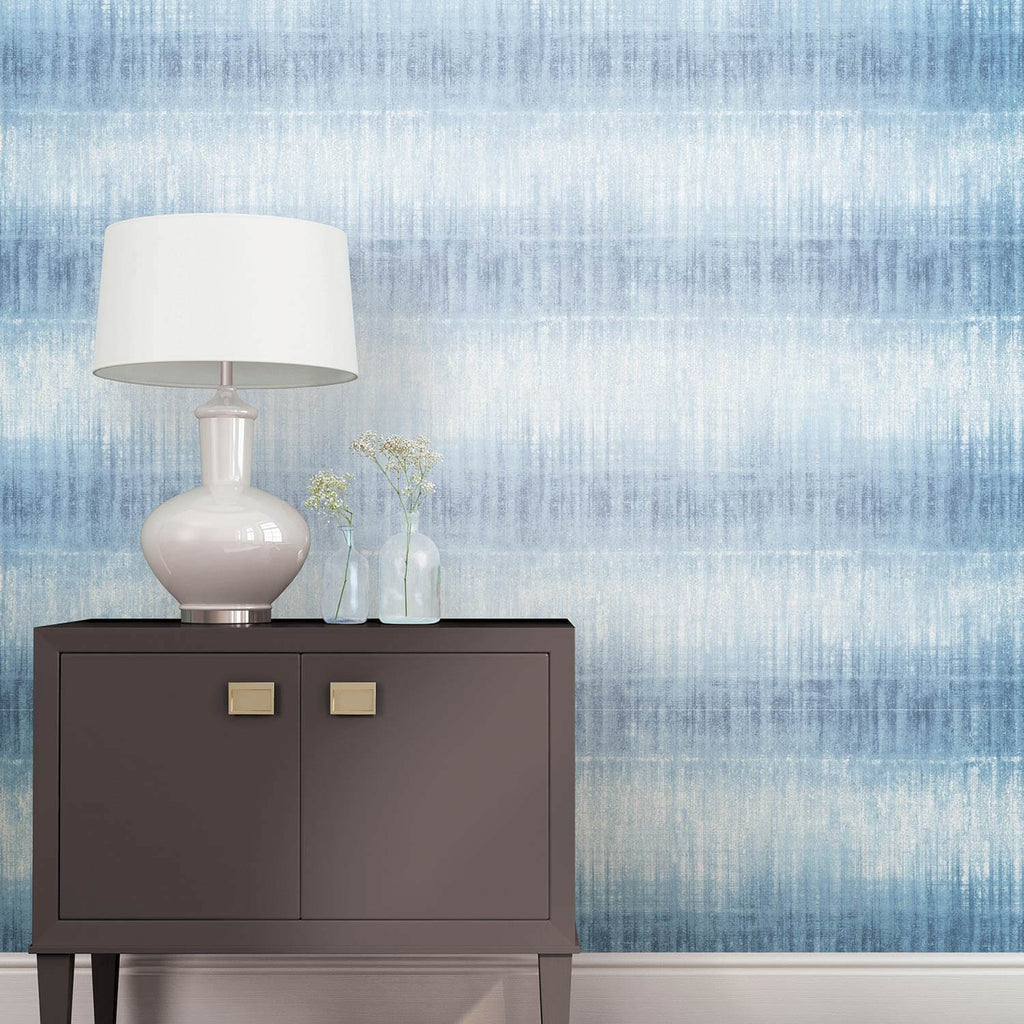 Peel And Stick Temporary Wall Paper Tie Dye Stripe Dormify