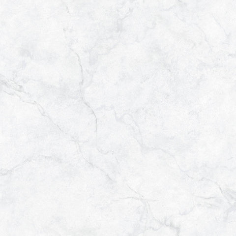 Peel and Stick Temporary Wall Paper - White Marble