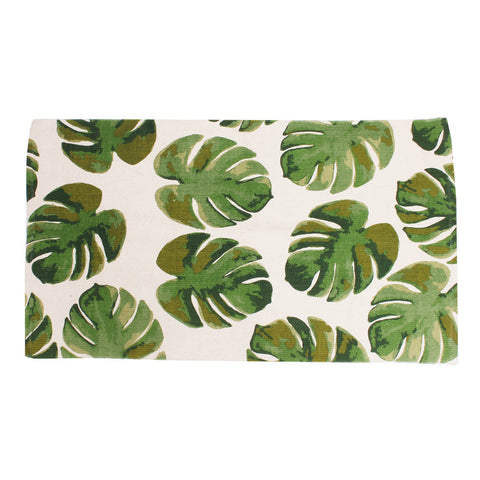 Green Leaf Accent Rug
