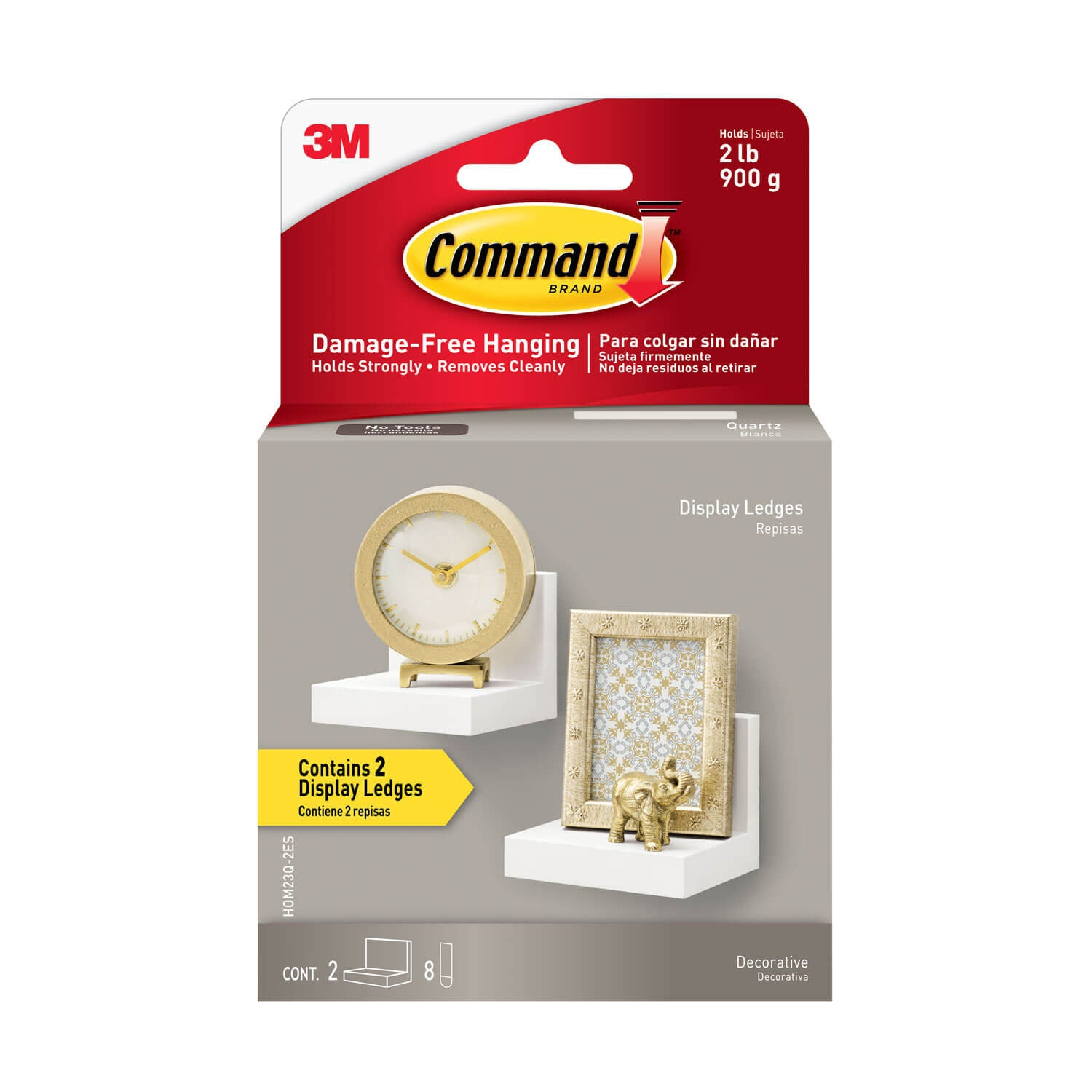 Command™ Display Ledges - Set of 2