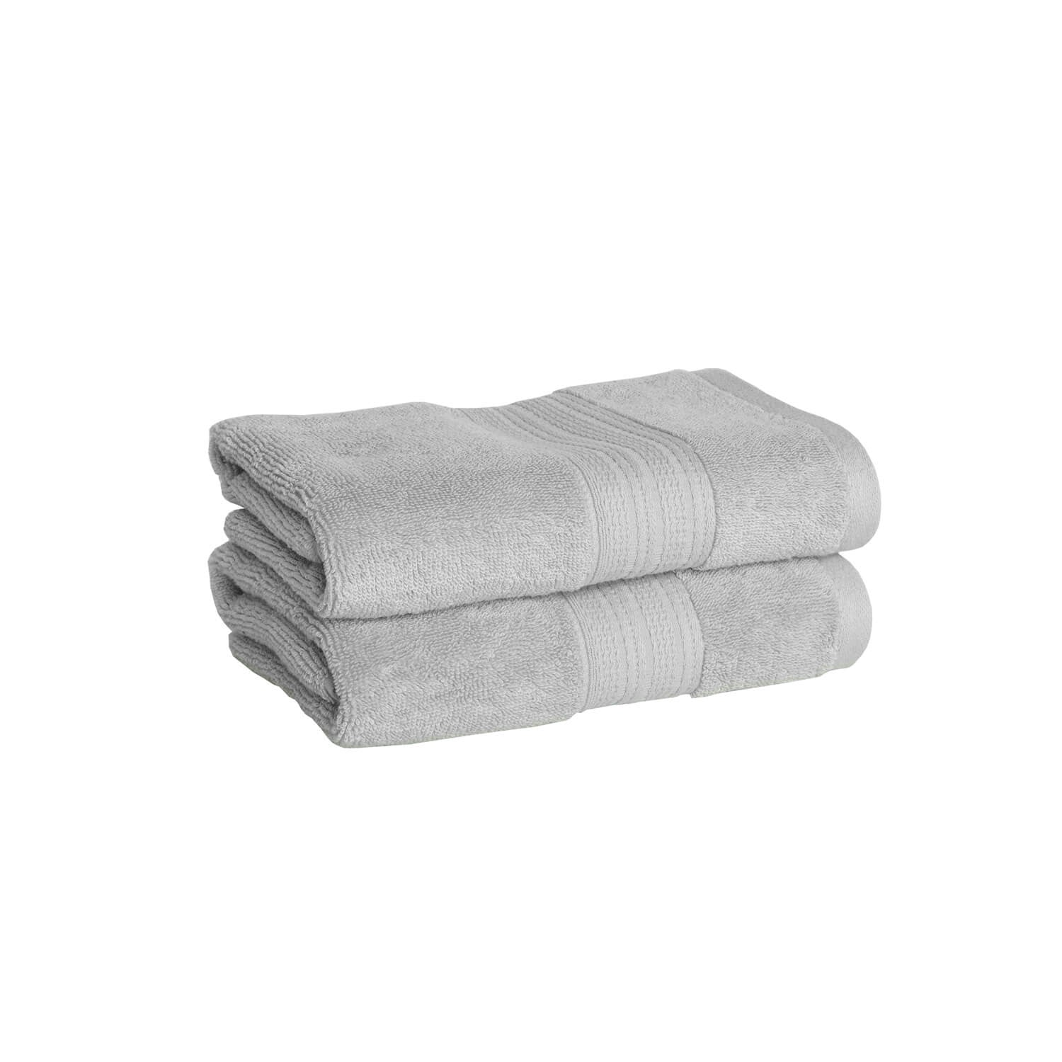 Luxe Hand Towel - Light Grey