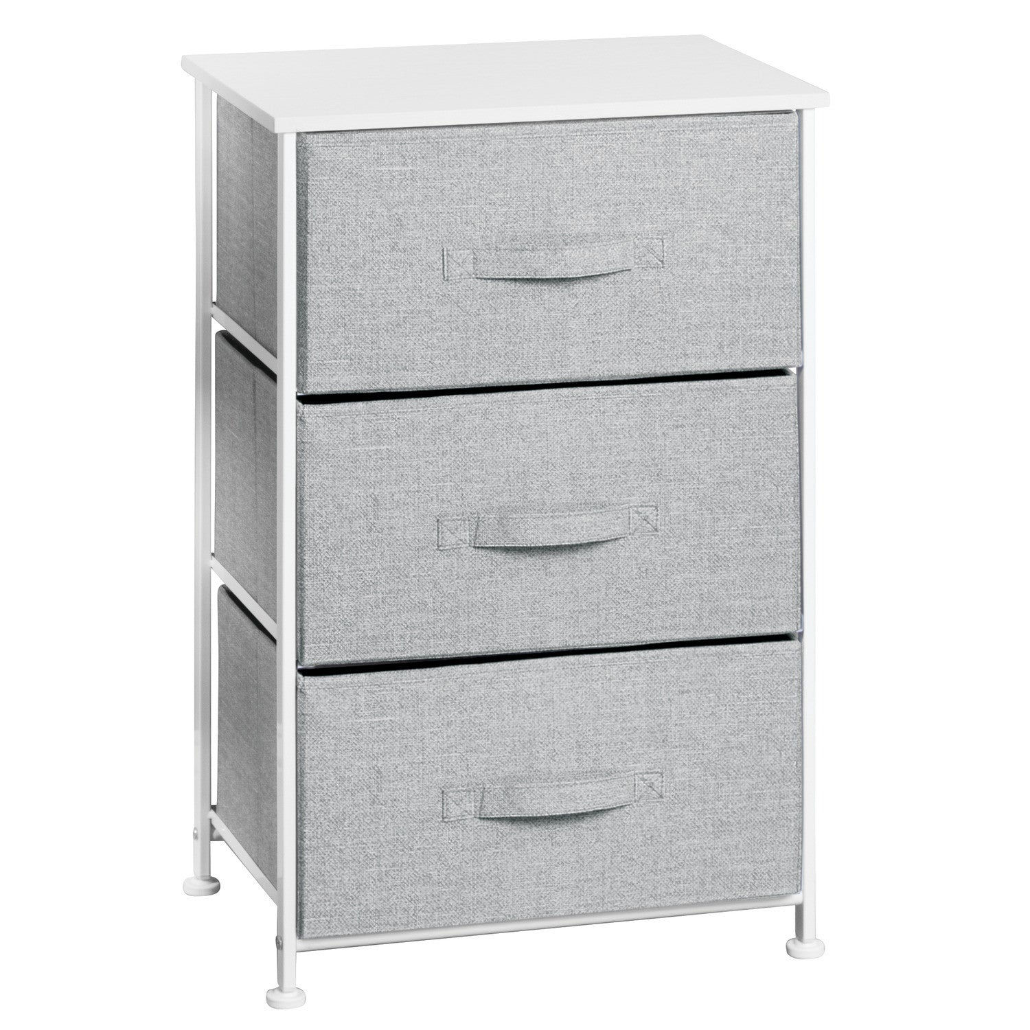 3 Drawer Storage Unit - Linen