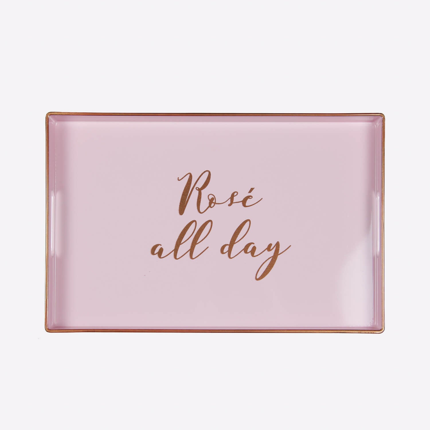 rectangular rose all day tray | decor