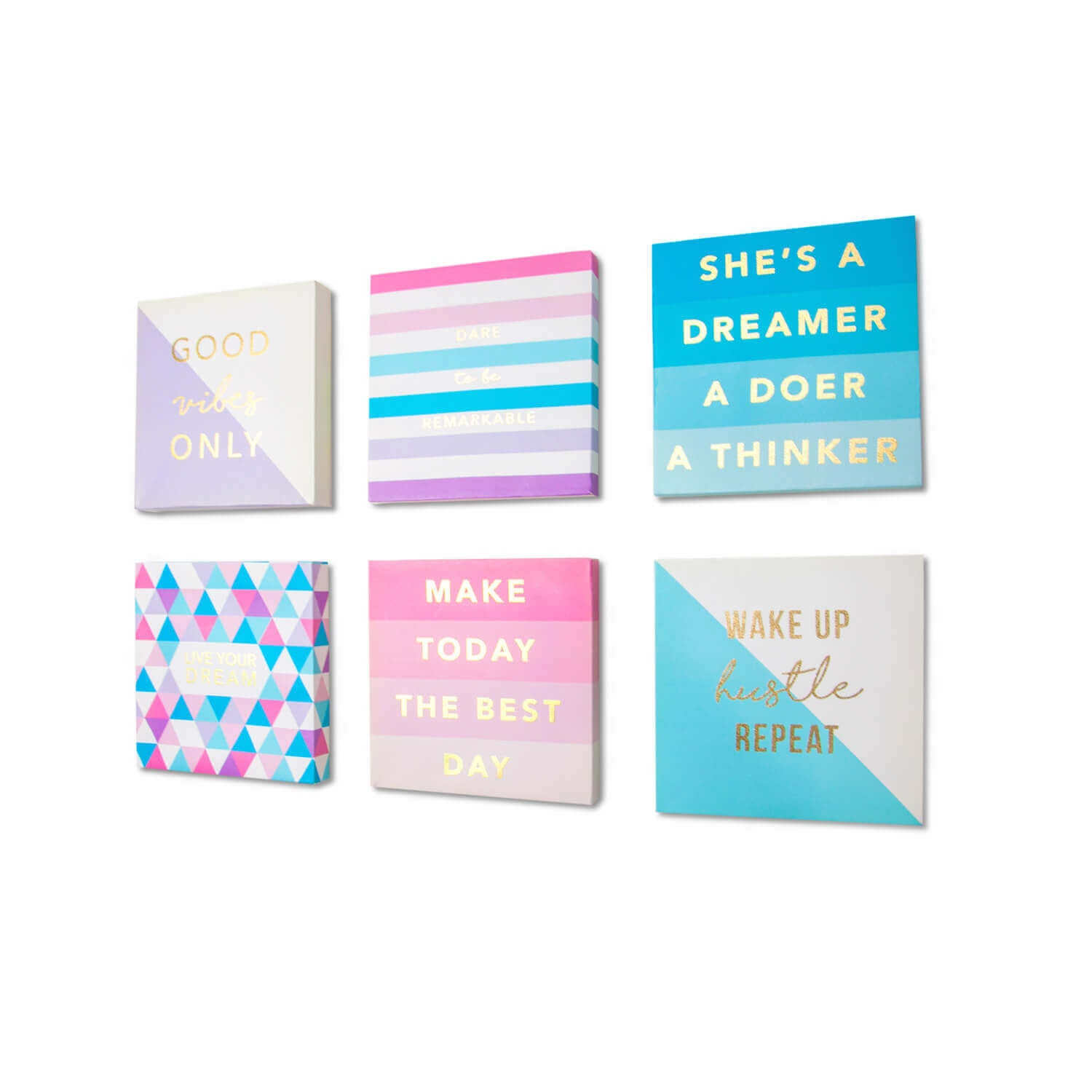 Inspirational Mini Canvas Set of 6