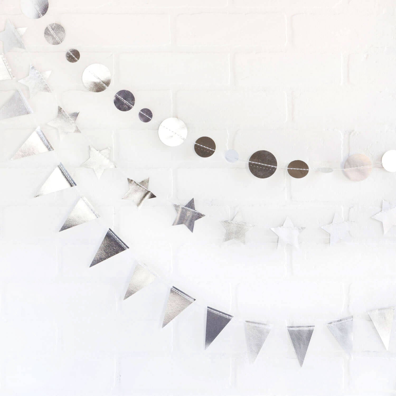Paper Garland Set - Gold