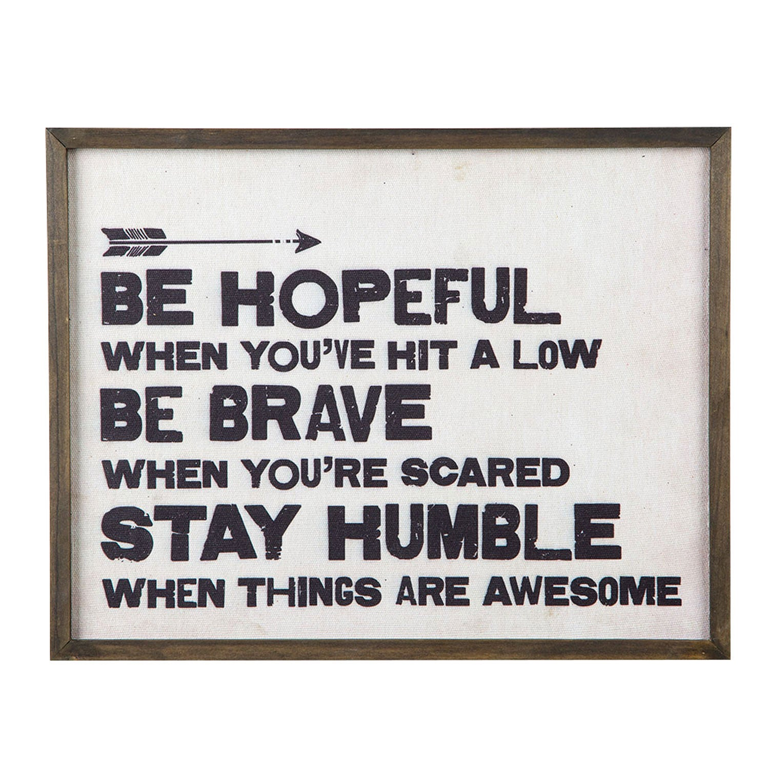 Be Hopeful Box Sign